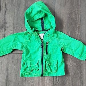 12M Green Spring/Fall Jacket